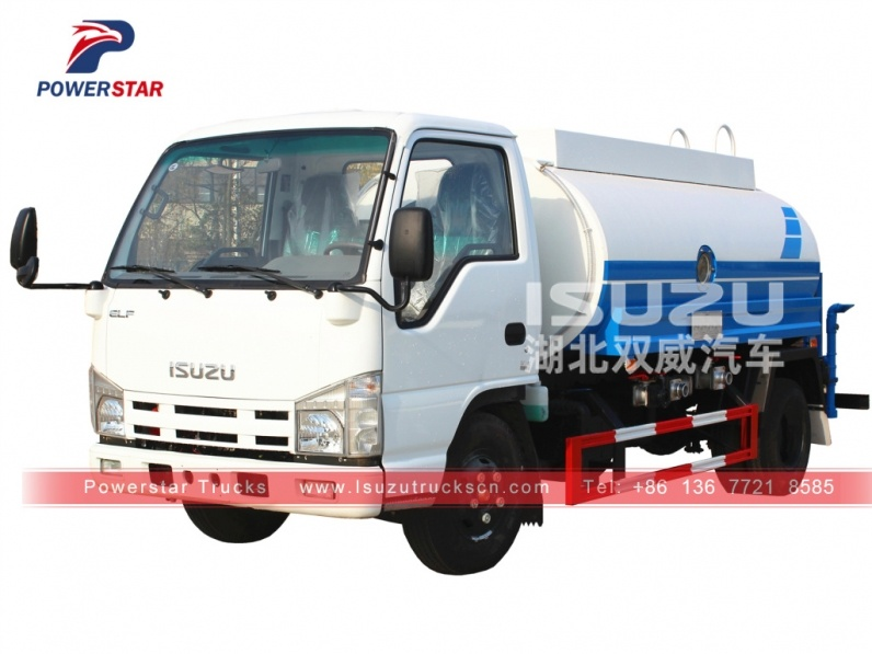 Philippines Isuzu water tank truck for sale