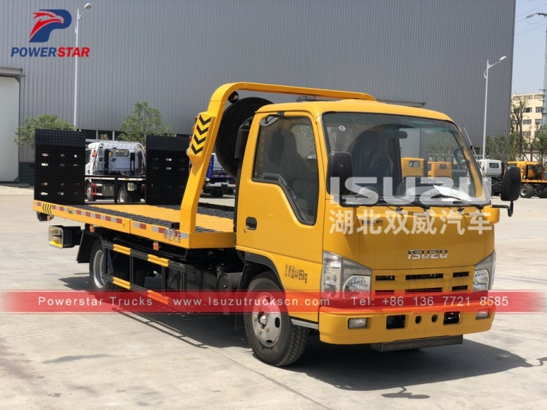 Philippines Isuzu Wrecker Tow Truck Breakdown Recovery Truck Vehicle for sale