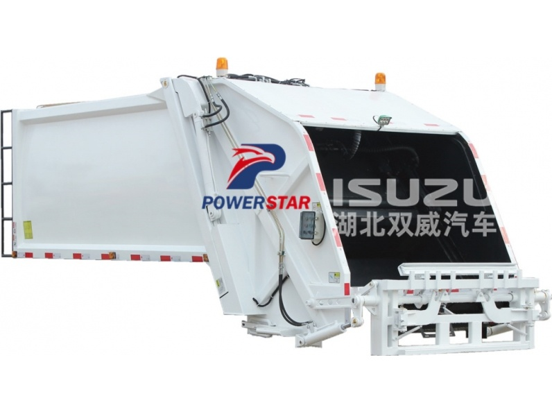 Top quality rear loader body for sale