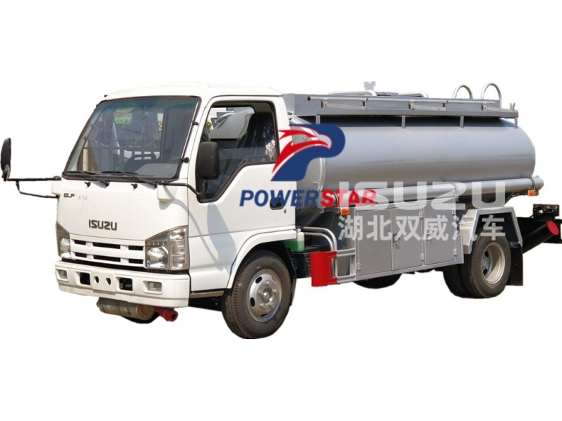 Fuel Tank Truck Isuzu for Light Diesel Oil Delivery