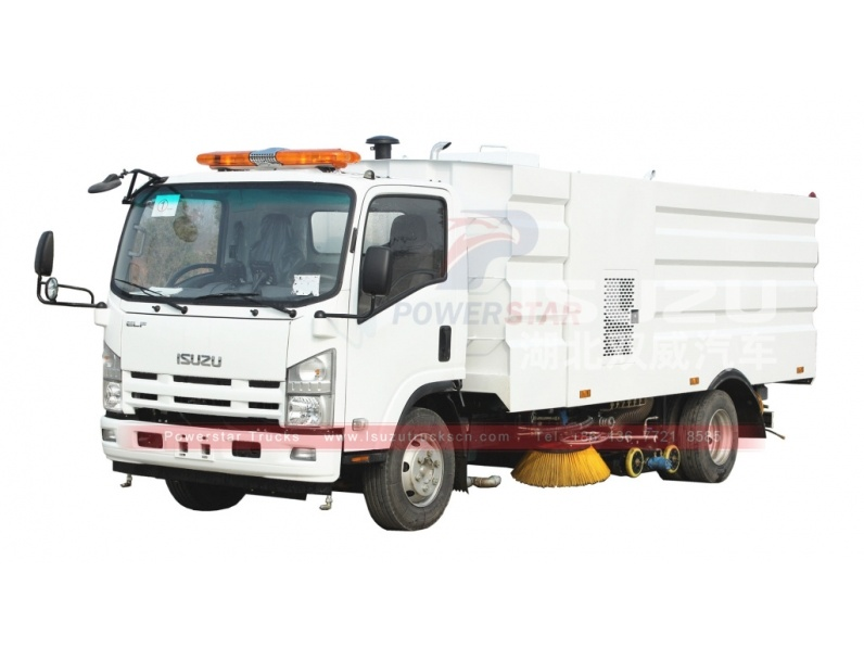 Japanese brand new ELF/700P Isuzu Vacuum Wet Type Sweeper Truck for sale
