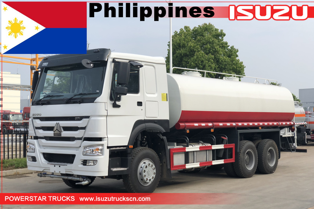 philippines-1unit of 20cbm howo water bowser